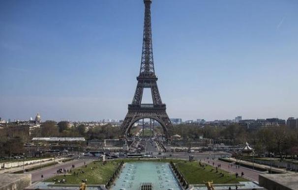 La Torre Eiffel en París.