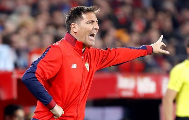 Fotografía de Eduardo Berizzo, entrenador del Sevilla.