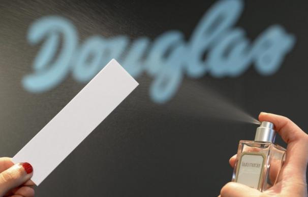 Imagen del logotipo de una tienda de perfumería Douglas