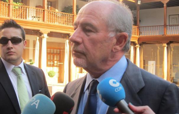 Rodrigo Rato recibe este martes el Premio Iberoamericano ASICOM-Universidad de Oviedo