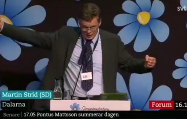 Un político ultraderechista sueco dice que los musulmanes no son 100% humanos