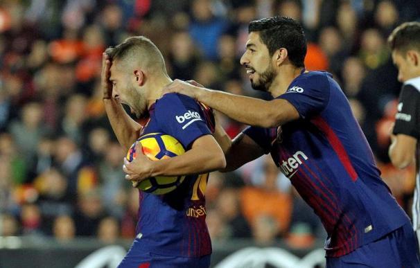 Valencia y Barça empatan y demuestran por qué son primero y segundo en Liga
