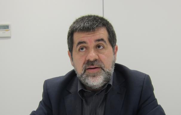 Fotografía de Jordi Sánchez, líder de la ANC.