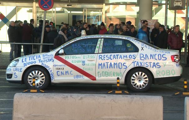 Huelga taxi