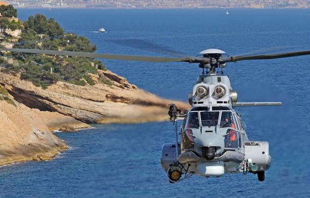 Helicóptero H215 Super Puma.