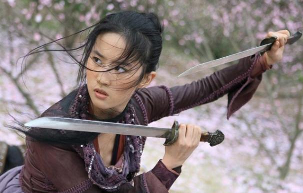 Fotografía de Liu Yifei (Crystal Liu), la actriz que encarnará a Mulan.