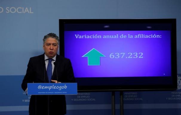 Foto del secretario de Estado de la Seguridad Social, Tomás Burgos