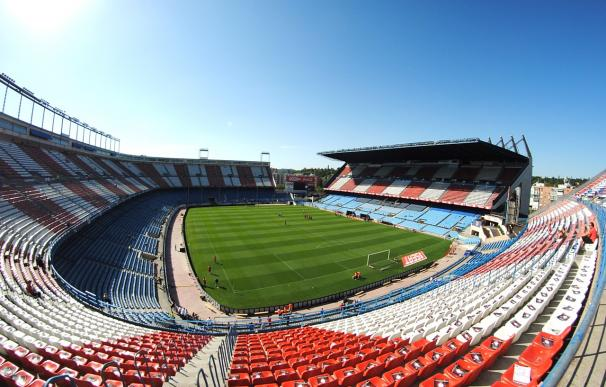 Fotografía del estadio Vicente Calderón.