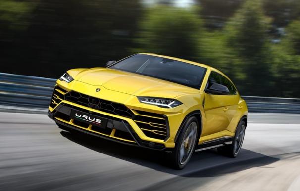 Fotografía del Lamborghini Urus