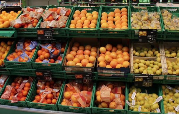 Fotografía de un supermercado francés.