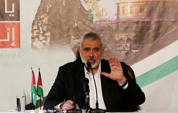 El jefe político del movimiento islamista Hamás, Ismail Haniye