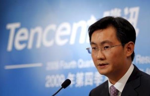 El presidente ejecutivo de Tencent, Pony Ma / EFE.