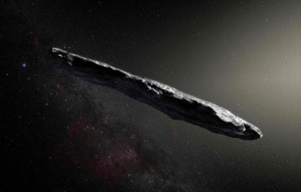 Fotografía de Oumuamua, el objeto interestelar que se ha colado en nuestro sistema solar.