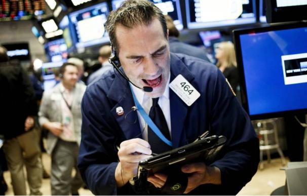 Pánico en Wall Street.