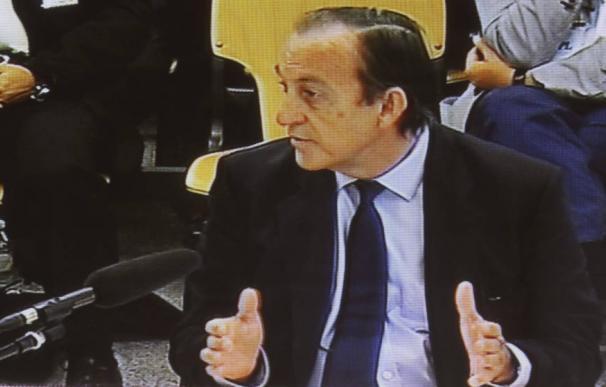 Estanislao Rodríguez-Ponga, durante el juicio por las tarjetas 'black'