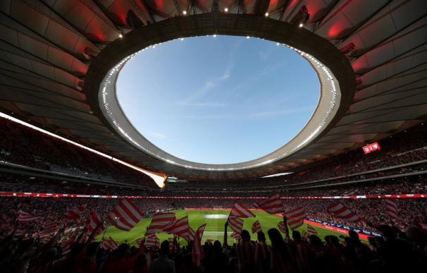 Fotografía del Wanda Metropolitano
