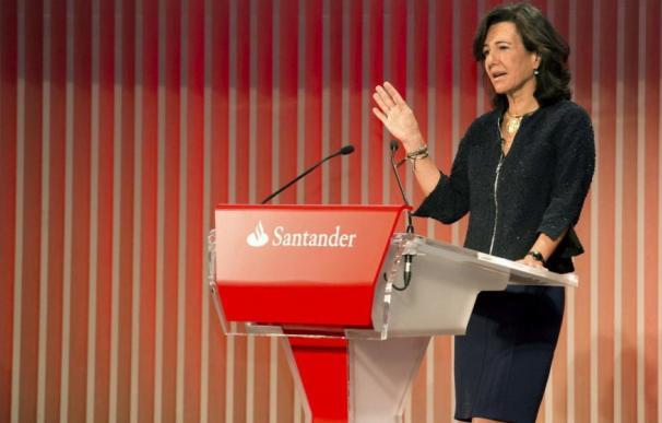 Ana Botín, presidenta del Banco Santander. (EFE)