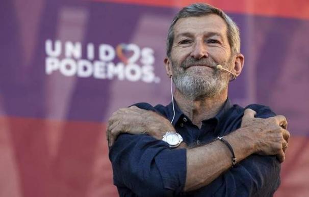 El nuevo secretario general de Podemos Madrid, Julio Rodríguez