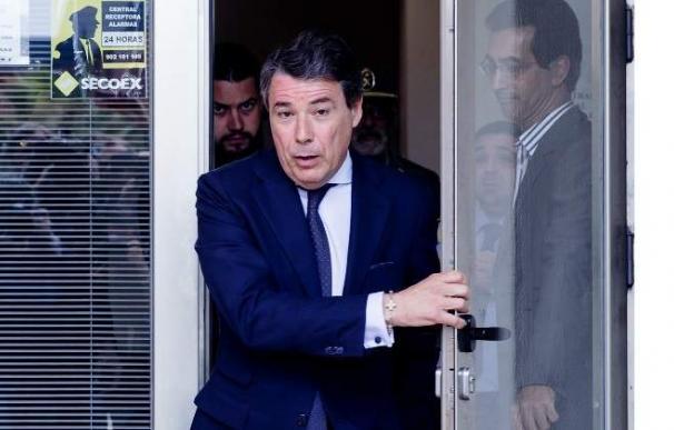 El expresidente madrileño Ignacio González. Foto: EFE