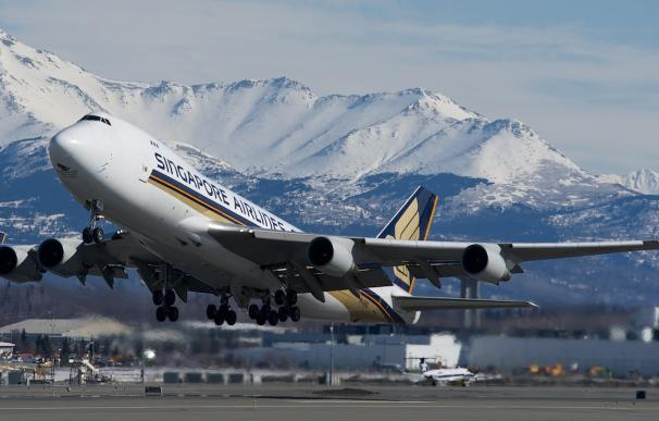 Uno de los Boeing 747-400F de Singapore Airlines Cargo que siguen en activo / BriYYZ