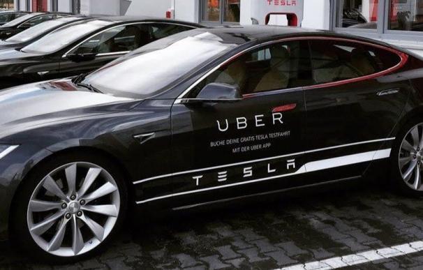 Model S de Tesla, el coche eléctrico de Uber