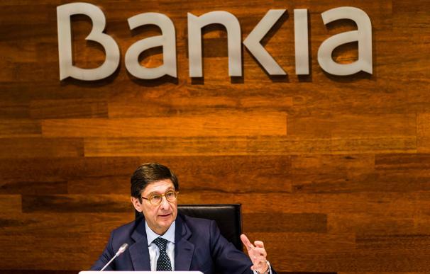 Fotografía de José Ignacio Goirigolzarri, presidente de Bankia