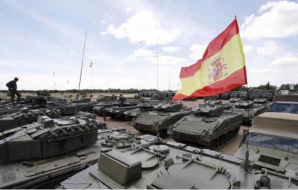 Los militares representan a España fuera de nuestras fronteras