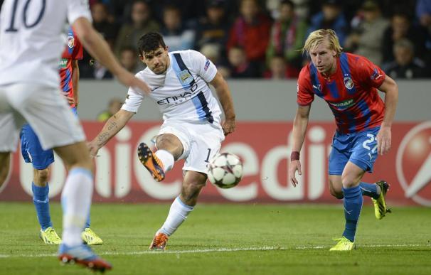 0-3. El Manchester City derrota al Viktoria Pilsen