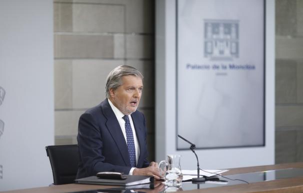 """Méndez de Vigo responde a Felipe González: no tiene """"todas las claves, ni la medida de los tiempos"""""""