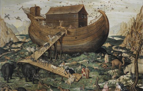 Fotografía del Arca de Noé.