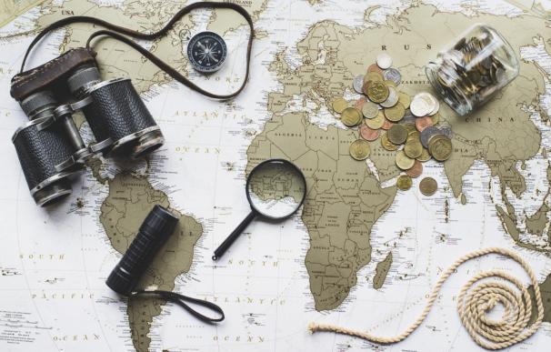 mapamundi de un viajero