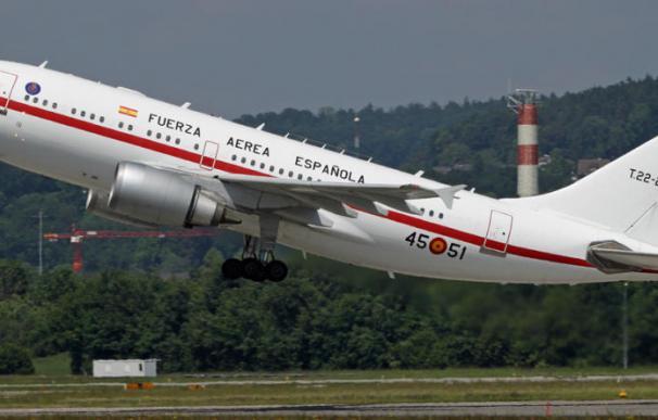 Avión de la Fuerza Aérea Española