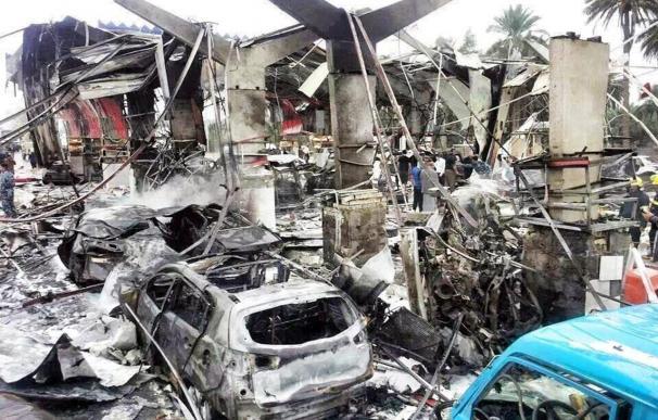 34 Muertos y 150 heridos en un ataque suicida contra puesto policial en Irak