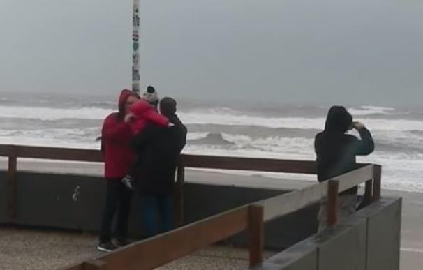 El temporal azota Francia