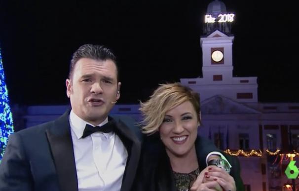 Iñaki López y Cristina Pardo, fin de año