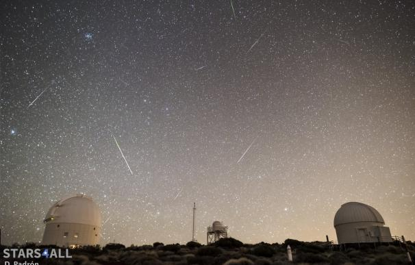 La primera lluvia de estrellas del año se retransmitirá desde Tenerife y Cáceres
