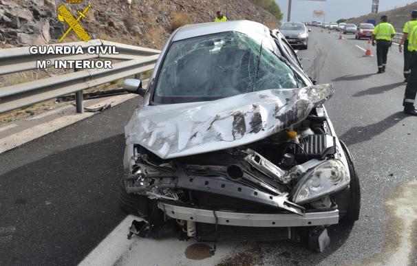 Investigan un accidente de tráfico con 6 personas heridas de carácter leve y un bebé ileso en Gran Canaria