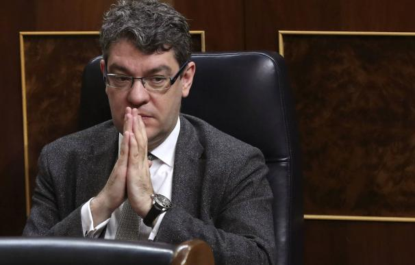 El ministro de Energía, Álvaro Nadal, en el Congreso.