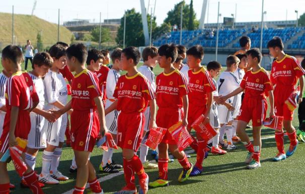 Fotografía de la escuela Evergrande en España