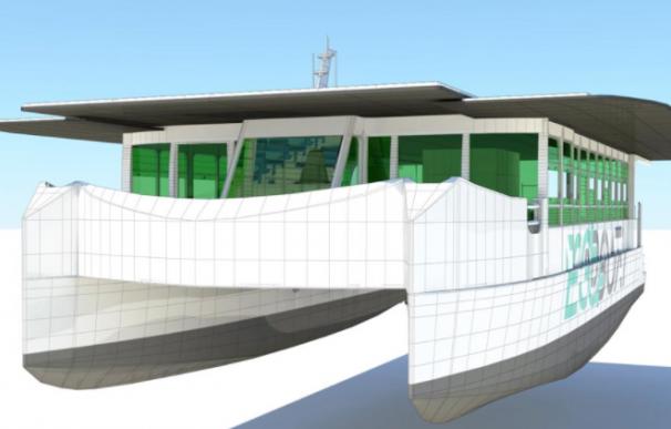 ECOCAT, primer catamarán electrosolar de Europa