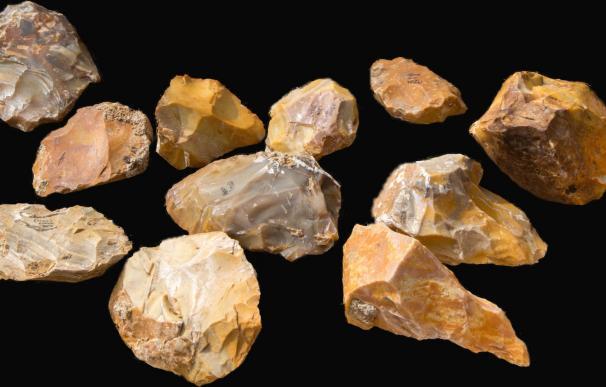 Piedras talladas por el Homo Erectus