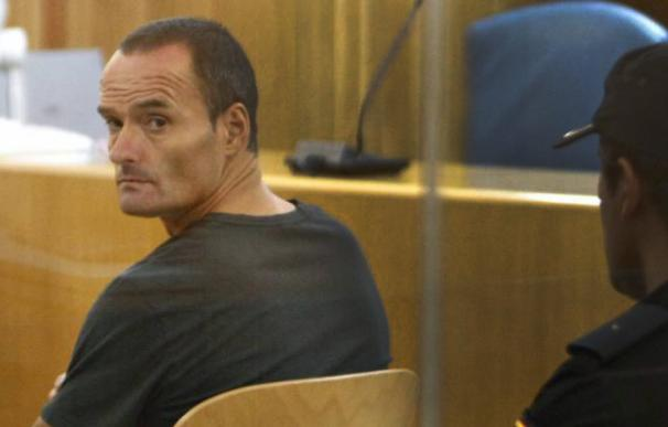 Fotografía del etarra Olarra Guridi durante un juicio en la Audiencia Nacional