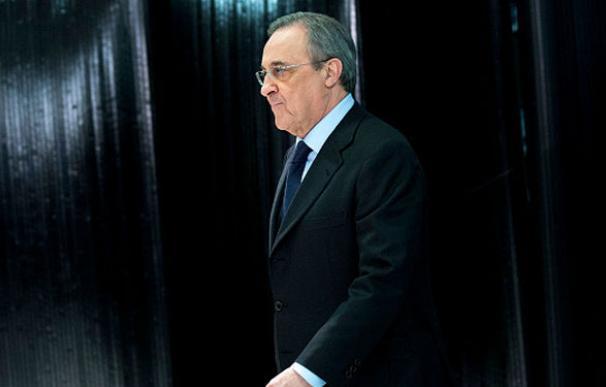 El presidente de ACS y del Real Madrid, Florentino Pérez.