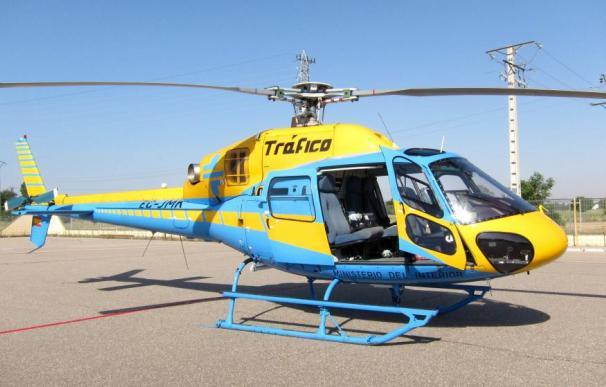 Helicóptero de la DGT.