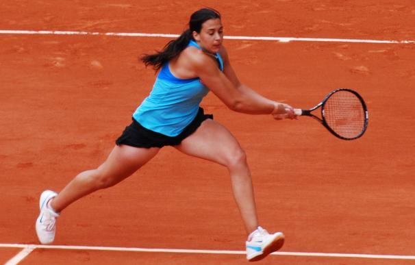 Fotografía de la tenista Marion Bartoli.