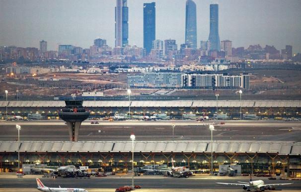 Fotografía de Madrid, desde el aeropuerto de Barajas