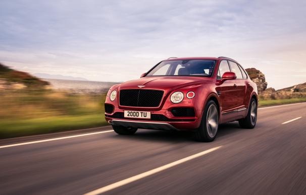 Fotografía del Bentley Bentayga V8