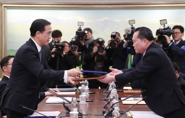 Los Juegos de Invierno unen a Corea del Norte y del Sur