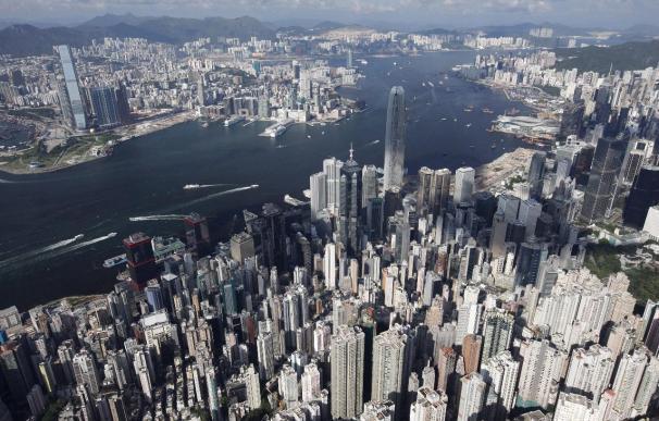 La banca china penaliza la bolsa de Hong Kong y cede 57,12 puntos