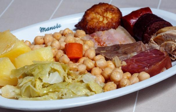 El cocido madrileño es el plato de invierno favorito de los españoles